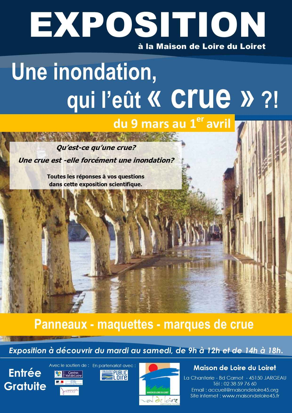 Exposition scientifique crue BD